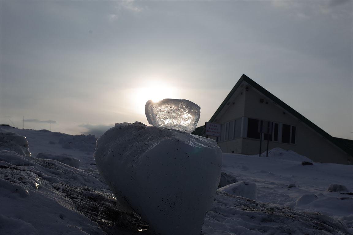 流氷とジュエリーアイスのコラボレーション