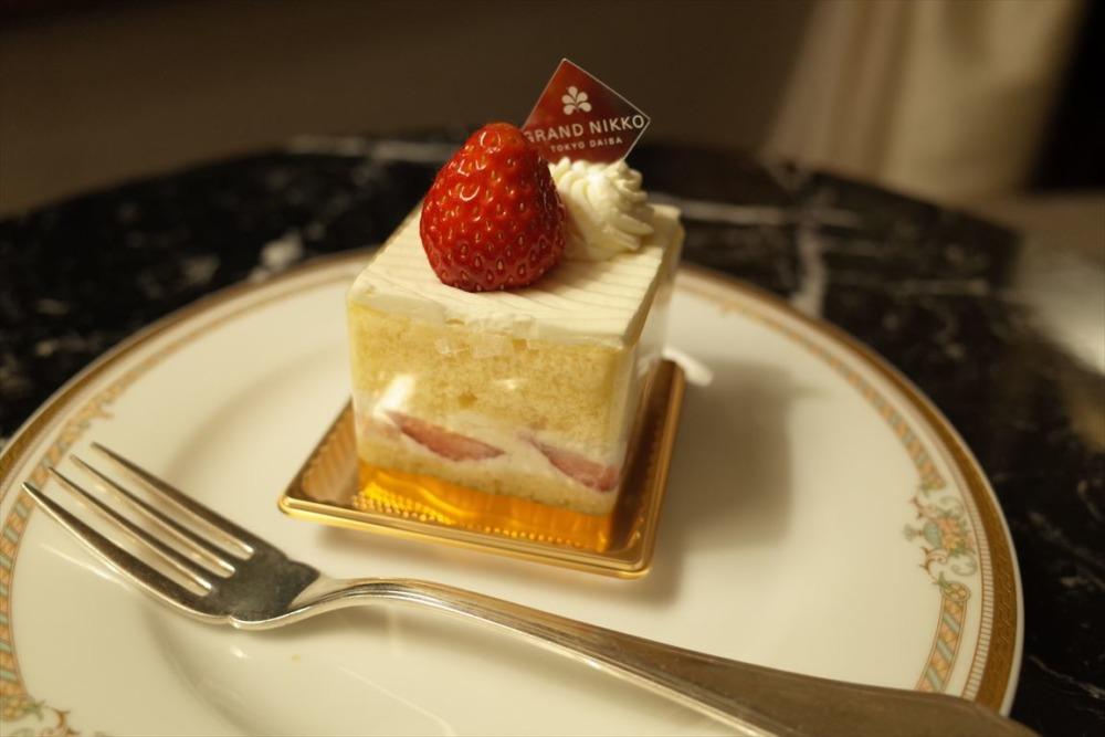 グランドニッコー東京台場 ショートケーキ