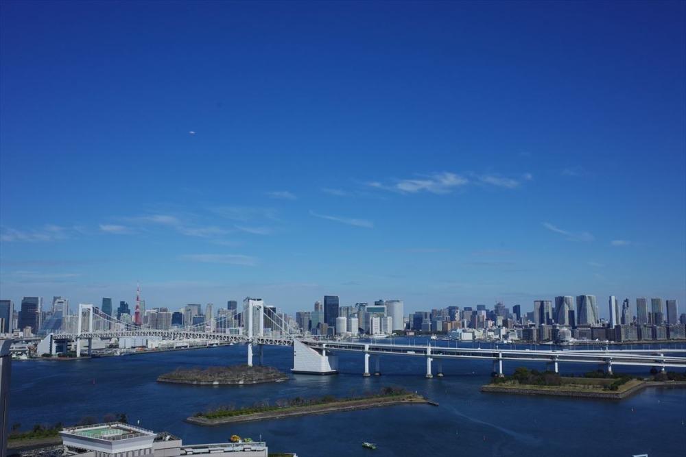 グランドニッコー東京台場 ビューラウンジ