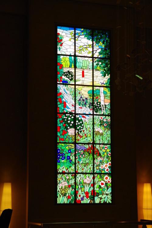 品川プリンスホテル ステンドグラス
