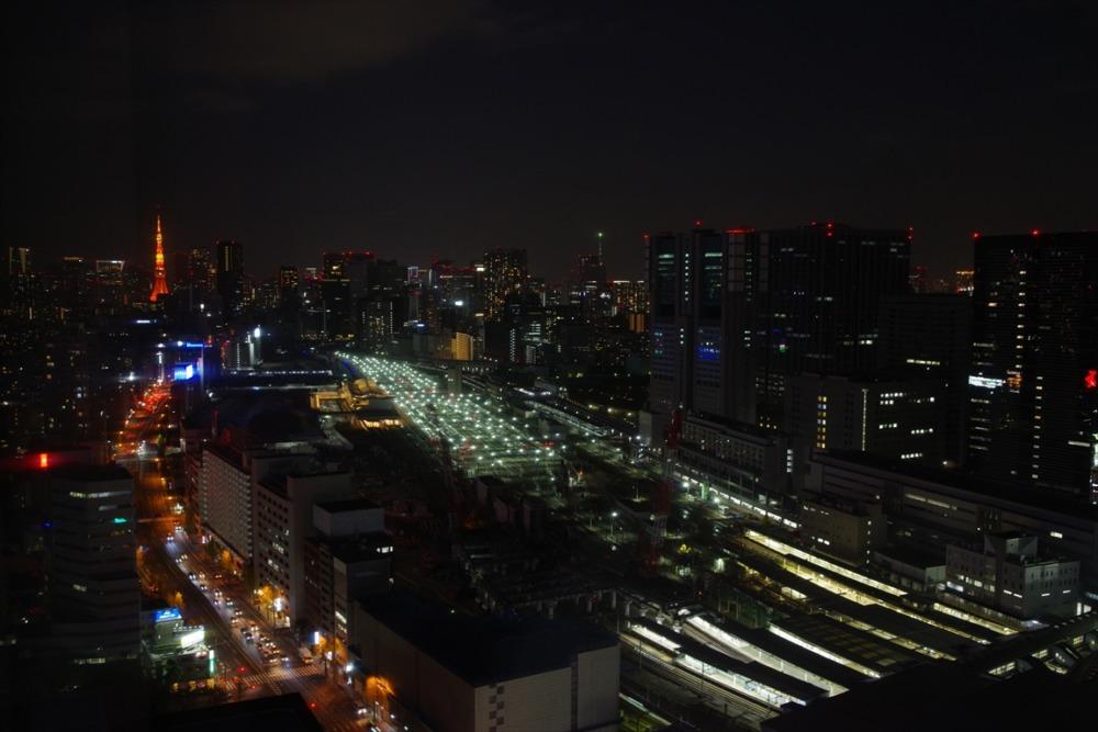 品川プリンスホテル 夜景