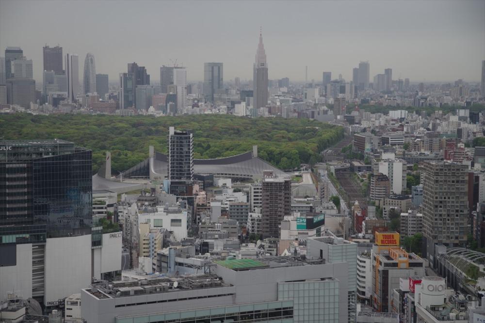 セルリアンタワー東急ホテル 景色 週末物見遊山