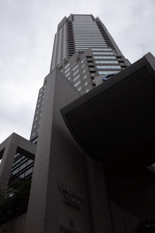 セルリアンタワー東急ホテル 週末物見遊山