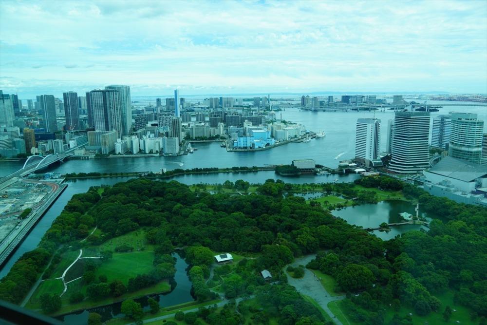 コンラッド東京 エグゼクティブラウンジ -週末物見遊山-